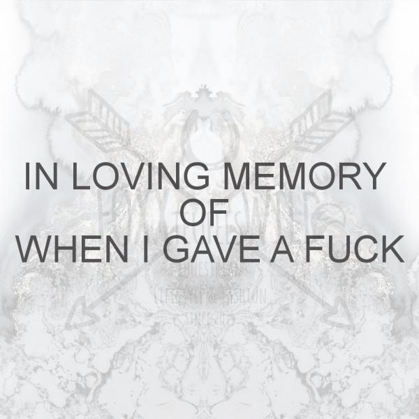 UNISEX - IN LOVING MEMORY