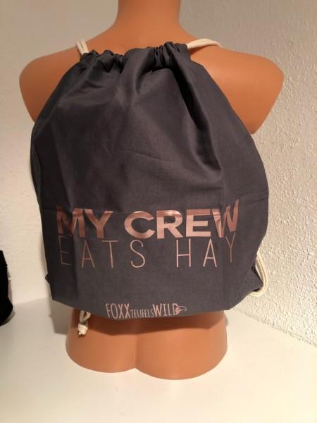Foxxbag - My crew eats Hay SPECIAL in rosé
